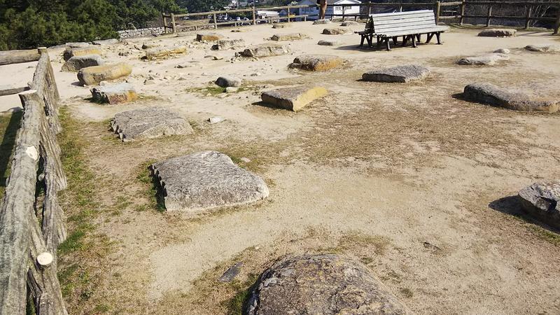 萩城 天守台跡