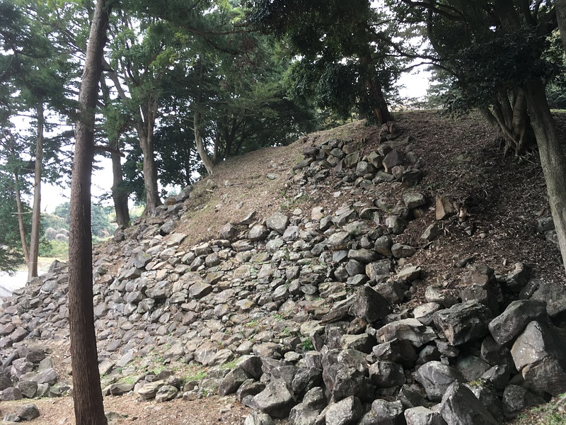 石垣山城の石垣