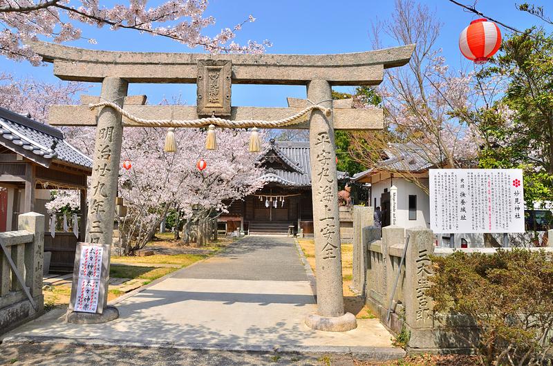 陽春の妙見神社