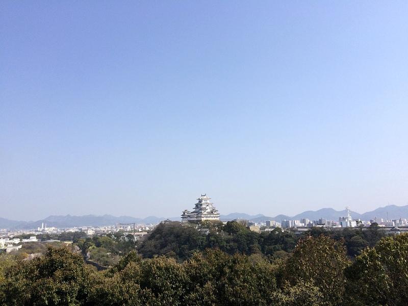 男山八幡宮から(遠景)