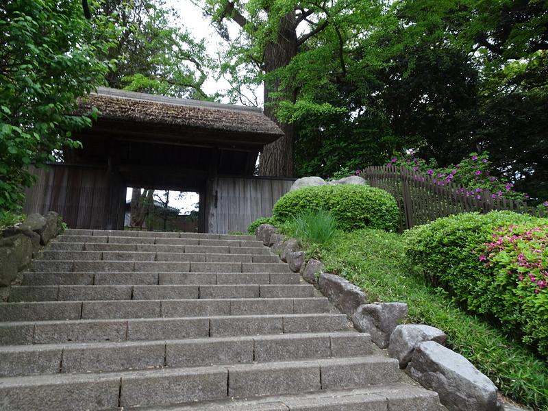 戸定が丘歴史公園 入口門