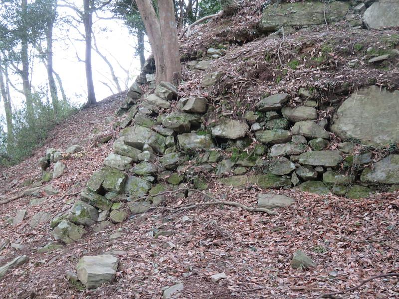 本丸南側石垣隅部