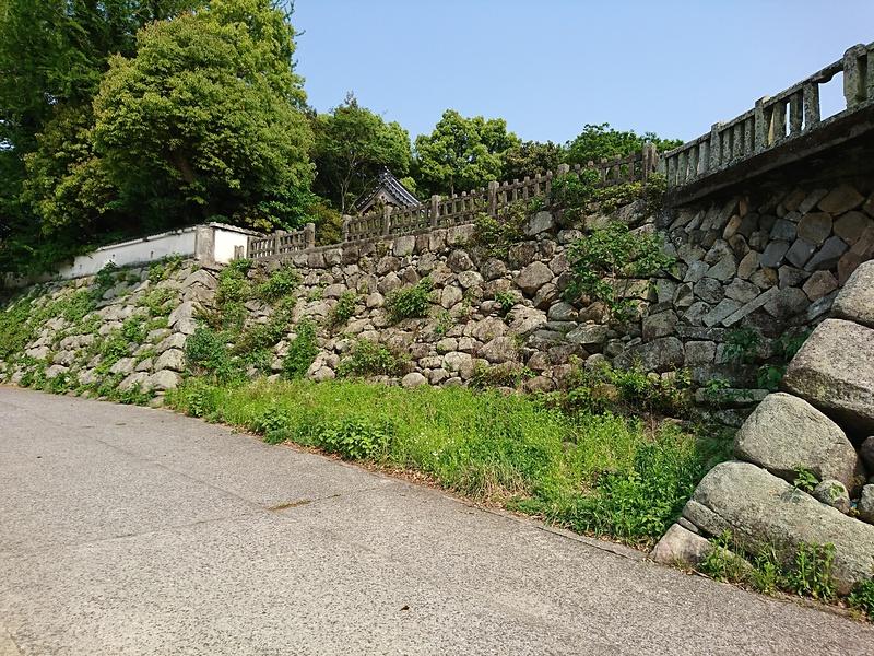 黒田藩石垣(中津川沿い)