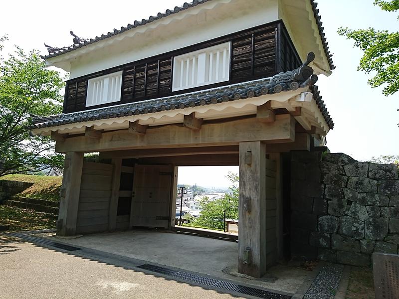 大門櫓(二の丸側)