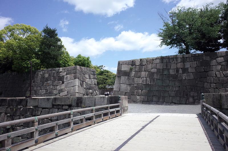 本丸西門(外枡形)