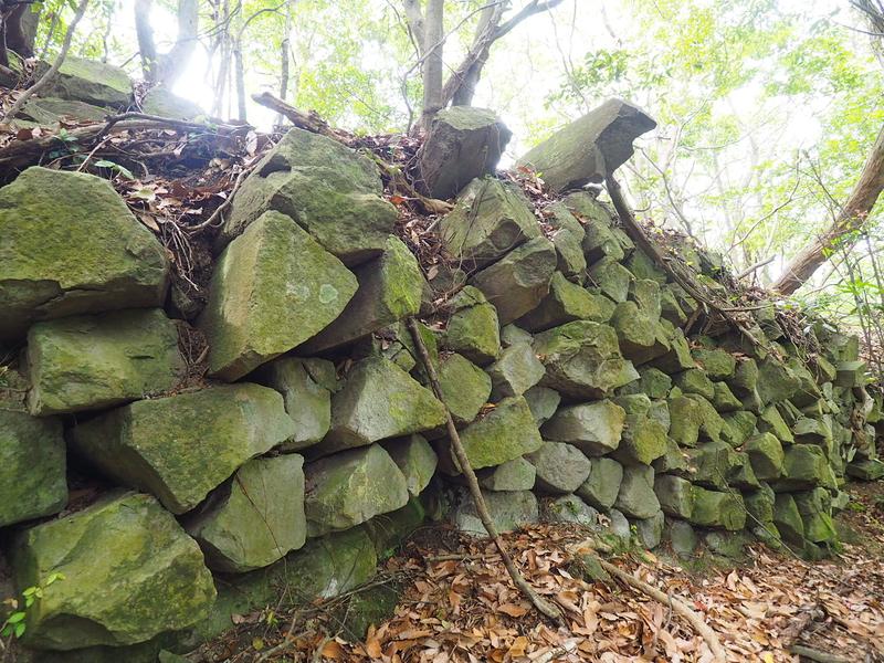 柱状節理の石垣③