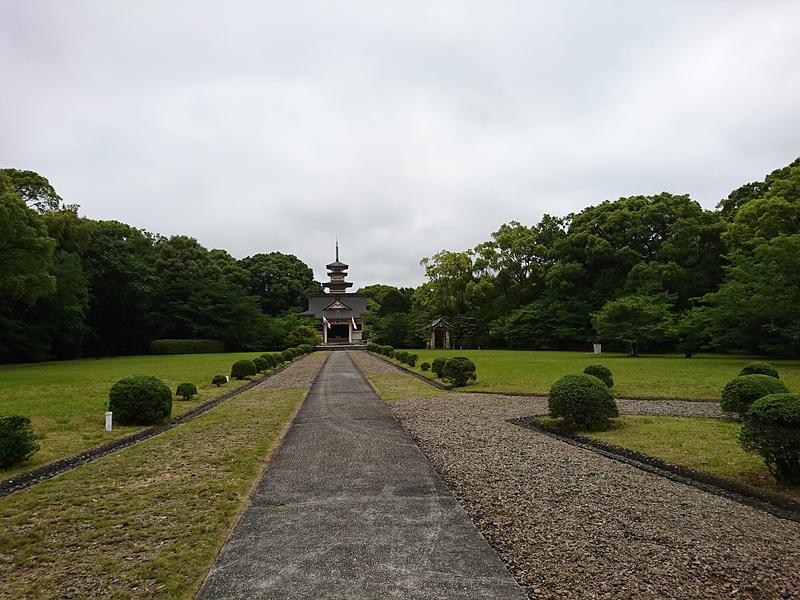 曲輪Ⅰ(長崎県忠霊塔)
