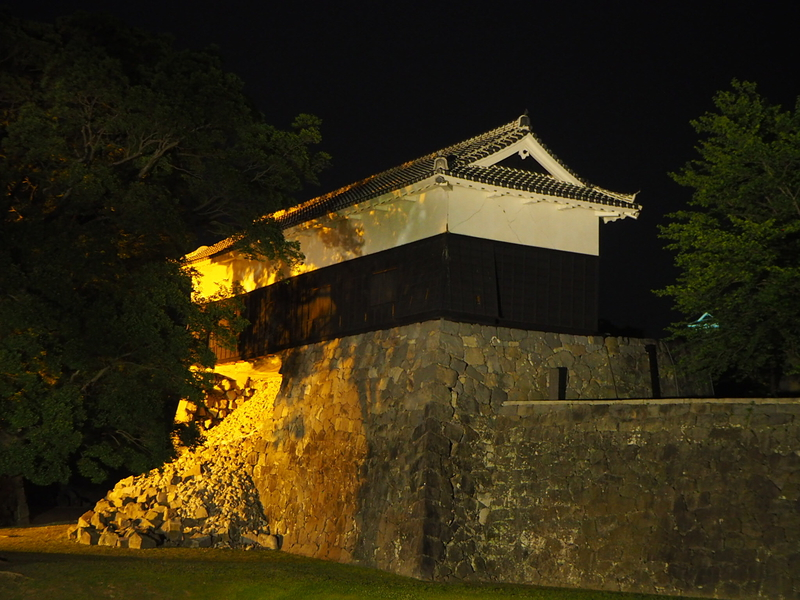 馬具櫓夜景
