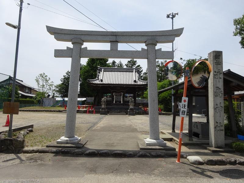 十九条城の写真:津島神社 | 攻...