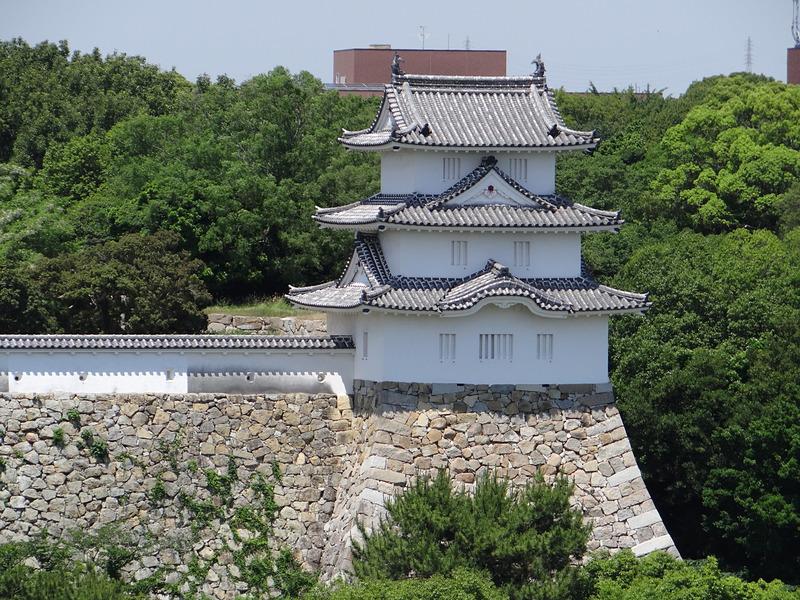 巽櫓(商工会議所屋上から)[明石城]