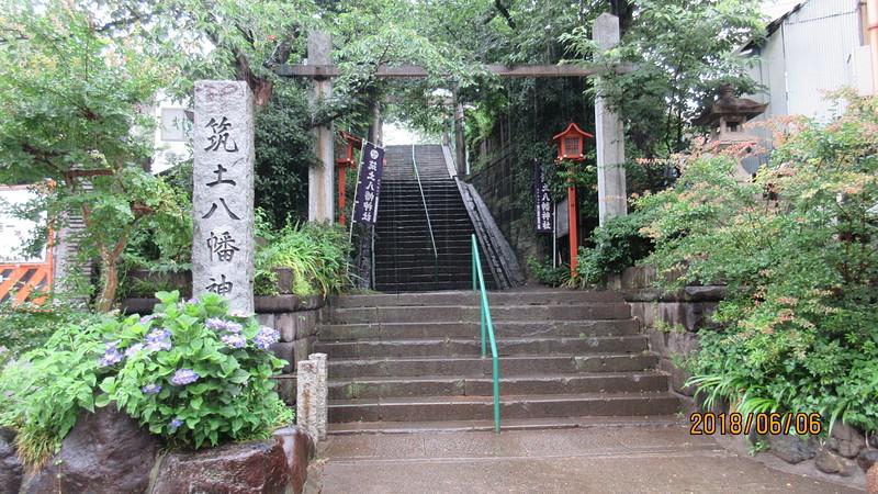 築土城の写真:筑土八幡神社 | 攻城団