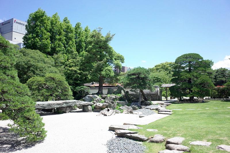旧徳島城表御殿庭園(枯山水部分)[徳島城]