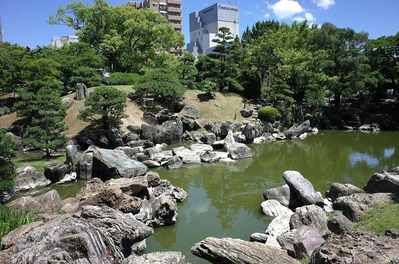 徳島城表御殿庭園