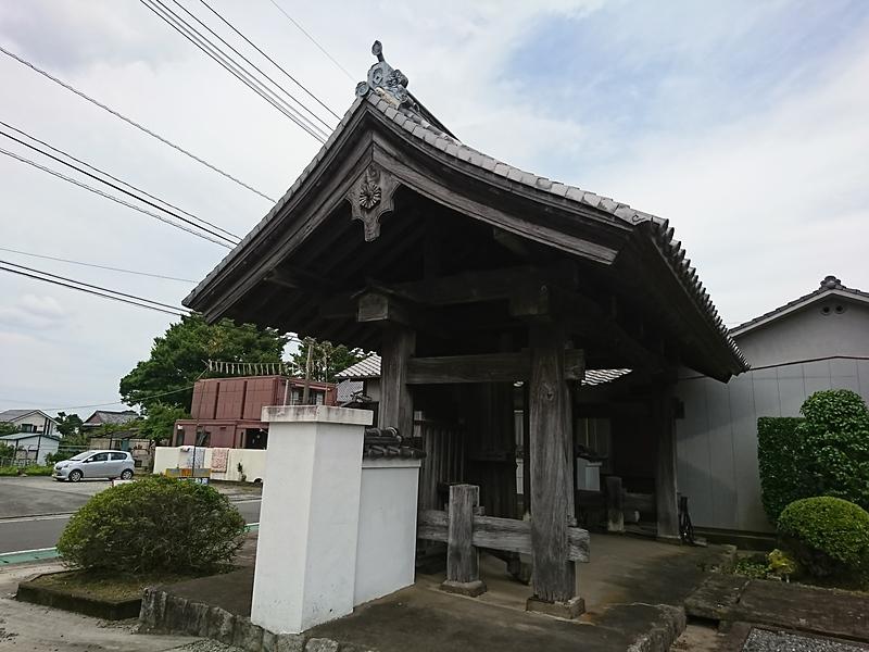 移築された水手御門 (寿本寺山門)②