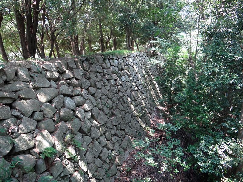 東の丸北側の石垣[明石城]