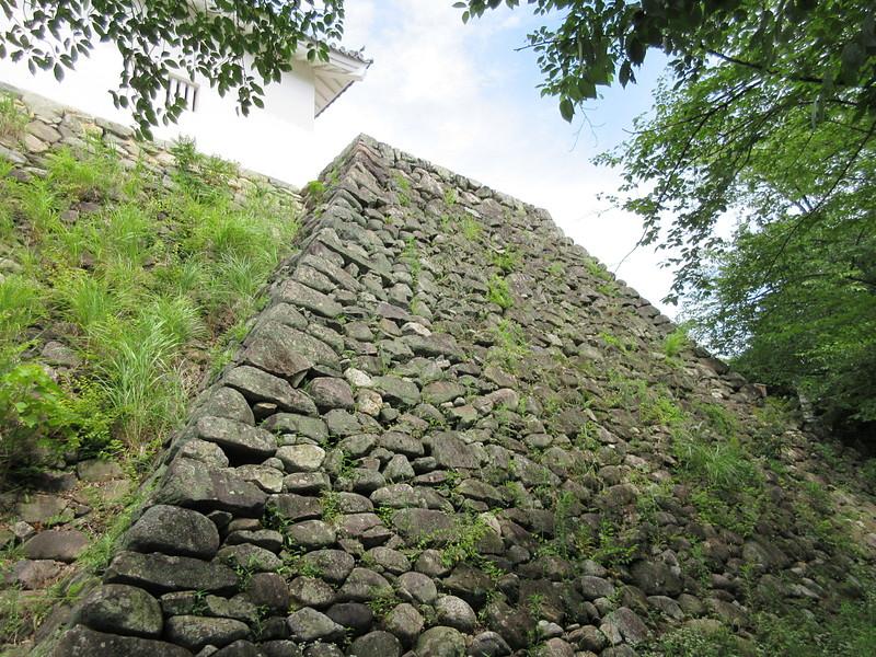 多門櫓台石垣②