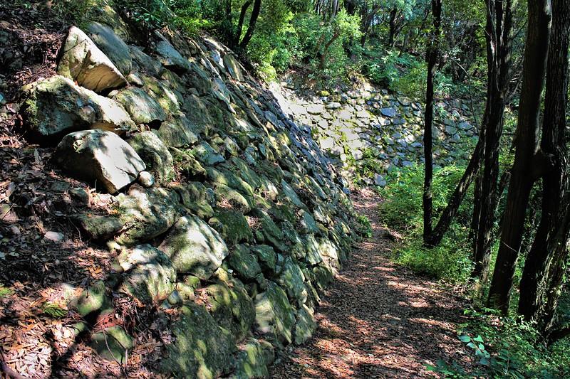 北二の丸下段石垣