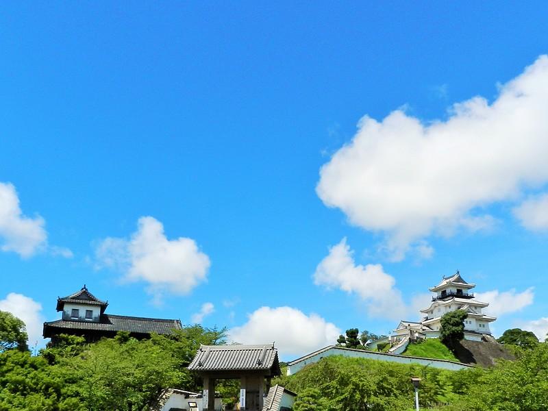 掛川城の夏