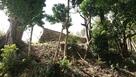 わかりにくい場所に石垣がありました。…
