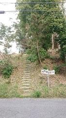 ここから上ります。…