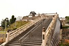 昇龍橋から天守へ…