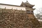 本丸高石垣に建つ付櫓…