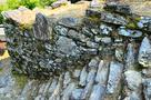 本丸跡の石段と石垣(1)…