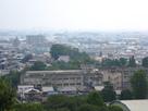 天守からの風景 犬山市街…