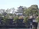 桜田巽櫓付近から富士見櫓を望む…