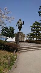 徳川家康像です。…