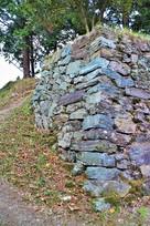 本丸石垣(南西側)…