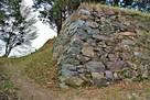 本丸石垣(南側)…