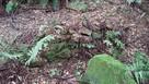 住吉城 登城道の石積み