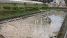 藩主居館跡の水堀…