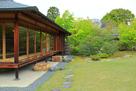 好古園 御茶室「双樹庵」と庭園…