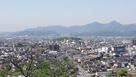千葉城から見た小城陣屋…