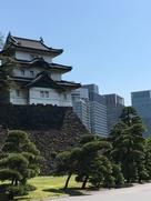 富士見櫓と大手町ビル群…