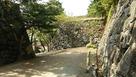 裏門跡の虎口