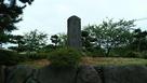 石碑と石垣