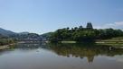 肱川対岸からの風景…