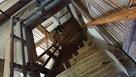 急勾配な階段(天守)…