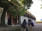 二の丸史跡庭園入口…