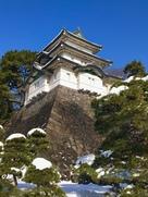 雪の富士見櫓