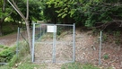 登城口の獣柵