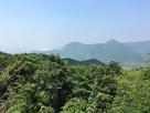 香春岳を眺める…
