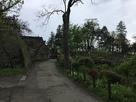 本丸、二の丸石垣と渡雲橋…