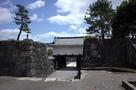 本丸東門の枡形虎口(上から)…