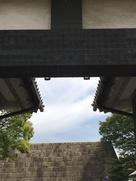 北桔橋門の吊り橋金具…