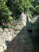 石垣(妙見神社の社殿裏手)…