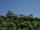 和歌山城、西の丸広場から…